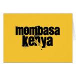 Africankoko Mombasa de encargo, Kenia Felicitaciones
