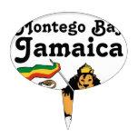 Africankoko Montego Bay de encargo, Jamaica Figura Para Tarta