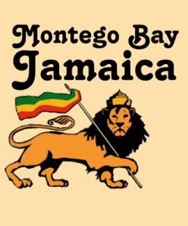 Africankoko Montego Bay de encargo, Jamaica Camiseta