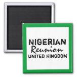 Africankoko  Nigerian  Reunion United Kingdom Fridge Magnet