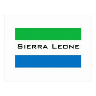 Africankoko, Sierra Leona Tarjetas Postales