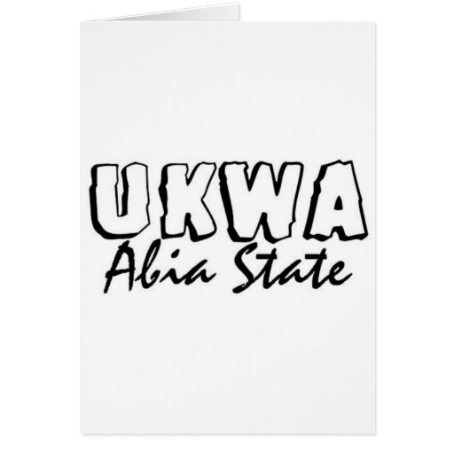 Africankoko Ukwa de encargo, AbiaState, Nigeria Felicitacion