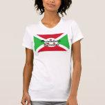 Africankokocustom Burundi T-shrit Camisetas