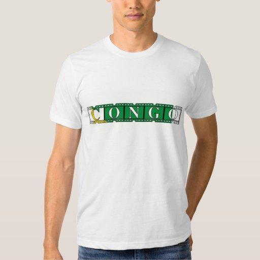 Africankokom Custom Congo Tee Shirt