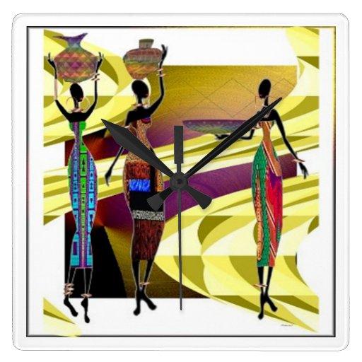 Africano Festiva Relojes