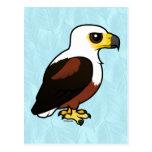 Africano Pescado-Eagle de Birdorable Postales