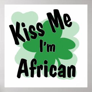 africano póster