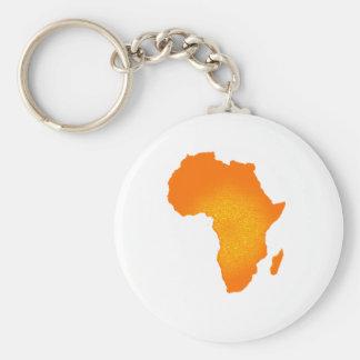 Africano Sun Llavero Redondo Tipo Pin