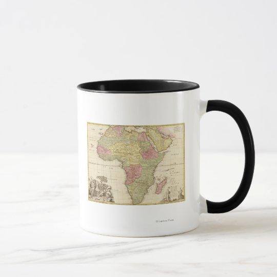 AfricaPanoramic MapAfrica 3 Mug