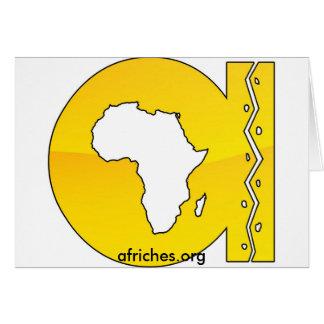 afriches.org tarjeta de felicitación