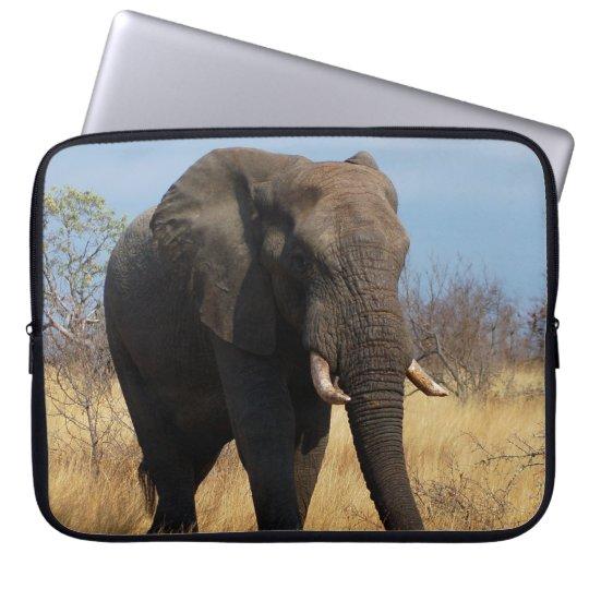 Africian Elephant Laptop Sleeve