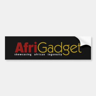AfriGadget Bumper Sticker