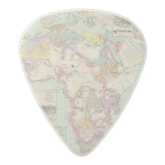 Afrika - Atlas Map of Africa Acetal Guitar Pick