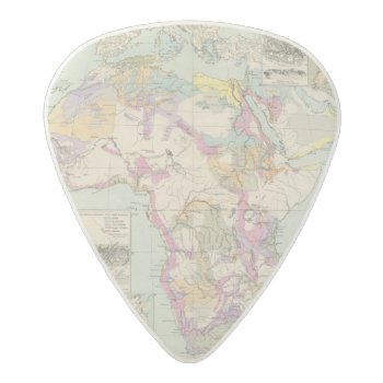Afrika - Atlas Map Of Africa Acetal Guitar Pick by davidrumsey at Zazzle