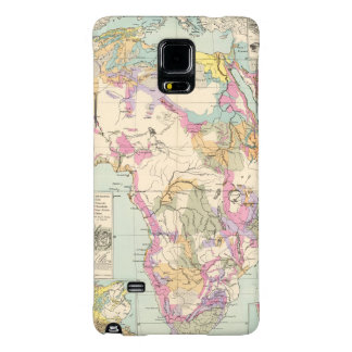 Afrika - Atlas Map of Africa Galaxy Note 4 Case