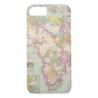 Afrika - Atlas Map of Africa iPhone 7 Case