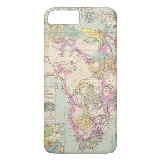 Afrika - Atlas Map of Africa iPhone 7 Plus Case