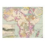 Afrika - Atlas Map of Africa Post Card