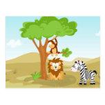 Afrika de mi serie del animal del mundo postal