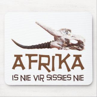 Afrika es mariquitas del nie vir: Cráneo de la Alfombrillas De Ratones