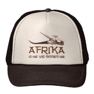 Afrika is nie vir sissies: Africa Springbok skull Trucker Hat