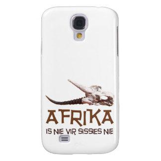 Afrika is nie vir sissies: Africa Springbok skull Samsung Galaxy S4 Cover
