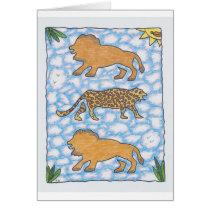 AFRIKA LIONS by Ruth I. Rubin