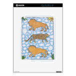 AFRIKA LIONS by Ruth I. Rubin Decals For The iPad 2