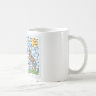 AFRIKA THREE GIRAFFES by Ruth I. Rubin Coffee Mug