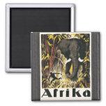 Afrika, Vintage Fridge Magnets