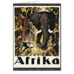 Afrika, Vintage Greeting Cards