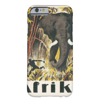 Afrika Vintage Travel Poster Barely There iPhone 6 Case