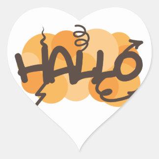 Afrikaans Hallo Sticker