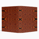 Afrikan design vinyl binders