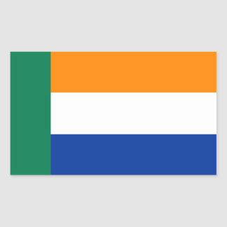 Afrikaner People ethnic Flag Rectangular Sticker