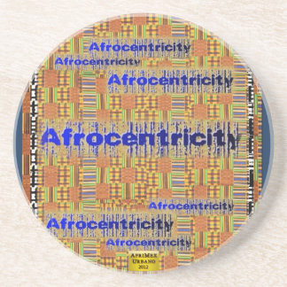 AfriMex Urbano Afrocentricity Kente Coaster