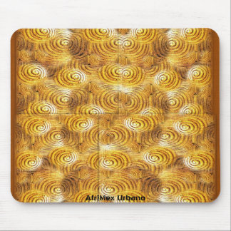 AfriMex Urbano Asante Gold Weights Mousepad