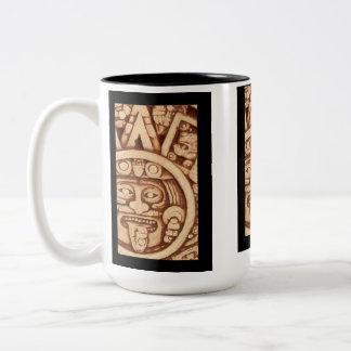 AfriMex Urbano Aztec Calendar Detail Mug