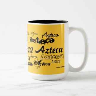AfriMex Urbano Azteca Yellow Mug