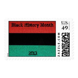 AfriMex Urbano Black History Postage