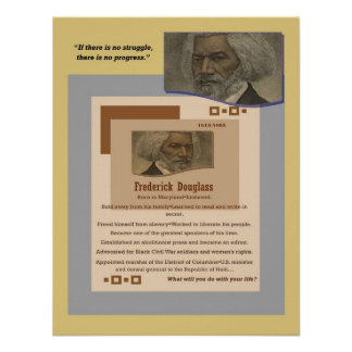 AfriMex Urbano Douglass Poster