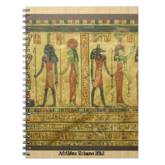 AfriMex Urbano Egyptian Relief Notebook