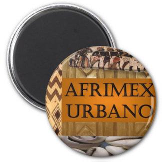 AfriMex Urbano Exclusive Magnet Round