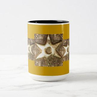 AfriMex Urbano Gold Adinkra Mug