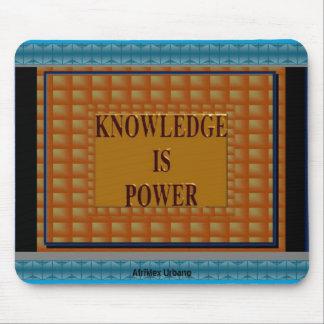 AfriMex Urbano Knowledge Is Power Mousepad