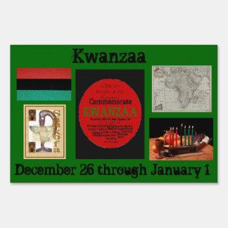 AfriMex Urbano Kwanzaa Special Edition Sign
