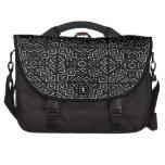AfriMex Urbano Mud Cloth Messenger Bag Commuter Bags