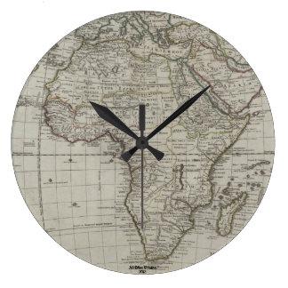 Afrimex Urbano Old Afircan Map Clock