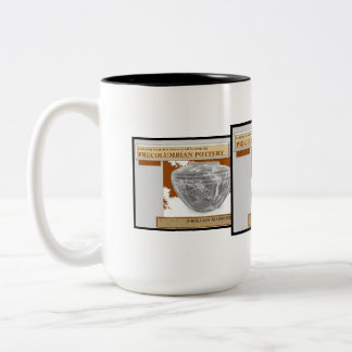 AfriMex Urbano PreColumbian Pottery Mug