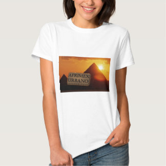 AfriMex Urbano Pyramid Sunrise Series Shirt